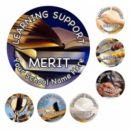 An image of Learning Support Reward Stickers - Photographic