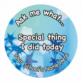 Ask Me Why Reward Stickers - Photographic