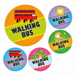 Walking Bus Stickers