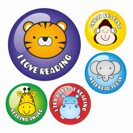 Animal Face Reading Stickers