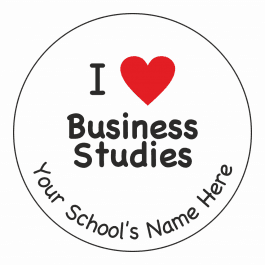 I Heart Business Studies Stickers