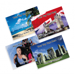 Leisure and Tourism Praise Postcards