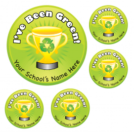 An image of I've Been Green Stickers Medium Pack
