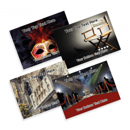 Performing Arts Praise Postcards