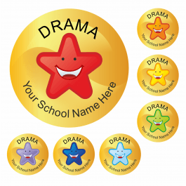 An image of Drama Star Stickers Medium Pack