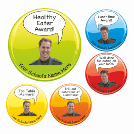 Princes Healthy Eating Award Stickers