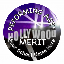 Performing Arts Reward Stickers - Photographic