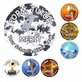 An image of Form Tutor Reward Stickers - Photo - Small Pack