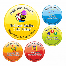 An image of Ask Me Why Maths Stickers - Large Pack