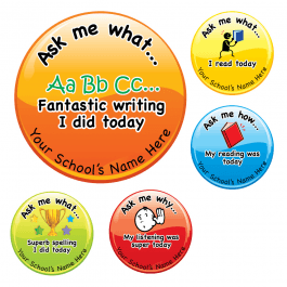 Ask Me Why Literacy Stickers