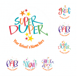 Mini Kirsten Burke Super Stickers