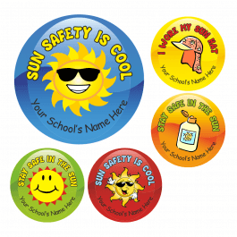 Sun Safety Stickers