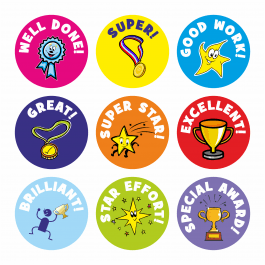 Mini Well Done Stickers