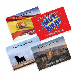 Spanish Praise Postcards
