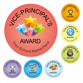 Vice Principal Reward Stickers