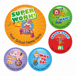 Award Stickers - Circus