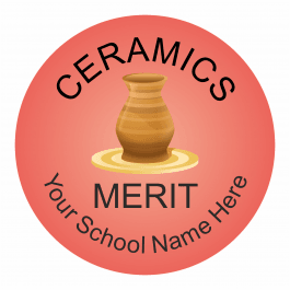 Ceramics Reward Stickers - Classic