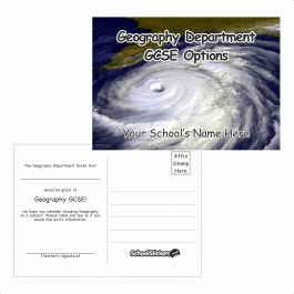 Geography Options Postcards
