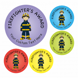 Fire Safety Stickers Set 2