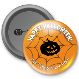 Happy Halloween Customised Button Badge