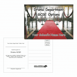 Drama Options Postcards