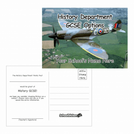 History Options Postcards