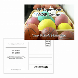 PE Options Postcards