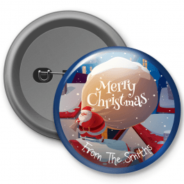 Christmas Customised Button Badge