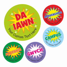 Welsh Teachers Wow Stickers