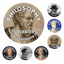 Great Philosophers Reward Stickers