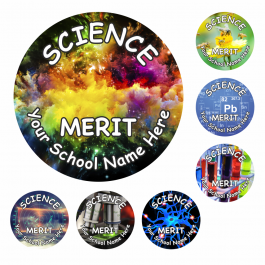Science Snapshot Reward Stickers