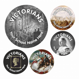 An image of Victorians Stickers - Small Pack