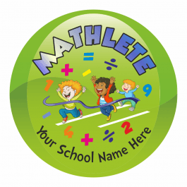 An image of Mathlete Stickers - Small Pack