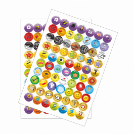 Music Reward Stickers - Variety Pack