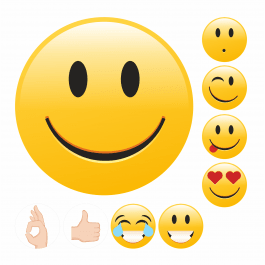 Emoji Praise Stickers