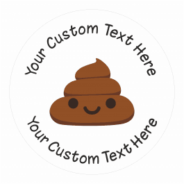 Poop Emoji Stickers