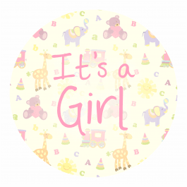 It's a Girl! - Elephant Design