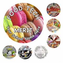 Food Technology Snapshot Reward Stickers
