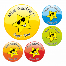 Teacher's Superstar Stickers
