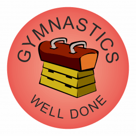 Gymnastics Praise Stickers - Clubs, sports, athletics