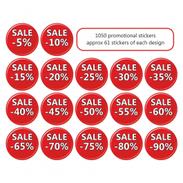 An image of Sale Mix Stickers Small Pack
