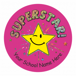 Superstar Sparkly Stickers