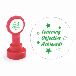 Xclamation Learning Objective Achieved Stamp