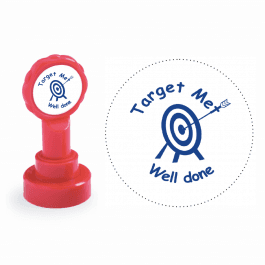 Xclamation Target Met Well Done Stamp