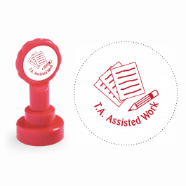 Xclamation T.A. Assisted Work Stamp