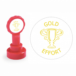 Xclamation Gold Effort Stamp