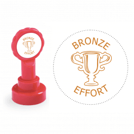 Xclamation Bronze Effort Stamp