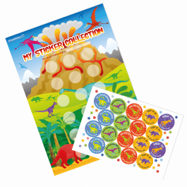 A3 Dinosaur Reward Charts and Stickers