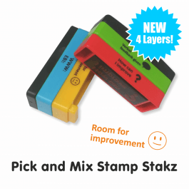 Pick and Mix Stamp Stakz - 4 Bricks