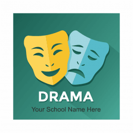 Drama Academic Reward Stickers